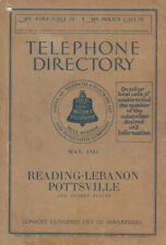 Lehigh County, PA Directories 1919-1936 - Genealogy / History