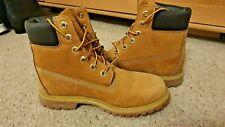 "Timberland Original 6"" Womens Boot - Yellow (tan) Leather & Waterproof - Size 5"