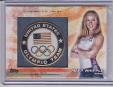 2012 TOPPS OLYMPIC MARY WHIPPLE ROWING CARD GAMES OF THE XXX OLYMPIAD #OLY-15