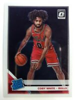 2019-20 Panini Donruss Optic Rated Rookie Coby White RC #180, Chicago Bulls