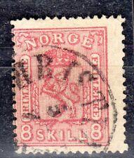 Norway - 1867 Definitive lion - Mi. 15a VFU