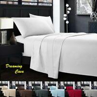 Hotel Luxury 1800 Count 4 Piece Deep Pocket Bed Sheet Set Hypoallergenic 4R