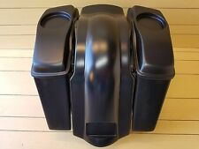 HARLEY DAVIDSON 4¨ EXTENDED SADDLEBAGS LIDS AND REAR FENDER TOURING 96-2013