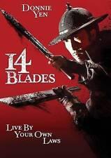 14 Blades DVD 2014 Donnie Yen Lions Gate Home Martial Arts Sealed Brand New