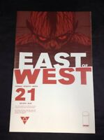East of West # 21 Image Comics October 2015 VF Jonathan Hickman