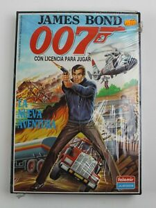 1989 JAMES BOND 007 THE NEW ADVENTURE Rare Spanish Board Game SEALED by Falomir
