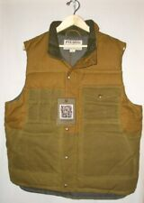 FILSON CRUISER DOWN VEST MEN'S XL TAN NEW WITH TAGS ORIG. $375 MADE IN CANADA