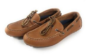 Sperry Hamilton II Driving Moccasins Mens Size 8 Shoes Tan Brown Leather