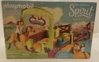 PLAYMOBIL 9478 Spirit Riding Free Lucky & Spirit with Horse Stall Stable NEW