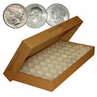 25 Direct-Fit Airtight H38 Coin Capsules Holders For MORGAN PEACE / IKE DOLLARS