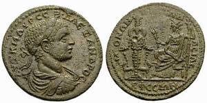 FORVM Choice EF Severus Alexander 36 mm Bronze Medallion Ephesos Ionia