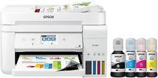 Epson EcoTank Et-4760 Wireless Color All-in-One Supertank Printer White New