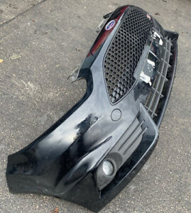 FORD FIESTA ST 180 BLACK COMPLETE FRONT BUMPER AS PICTURED RARE PART