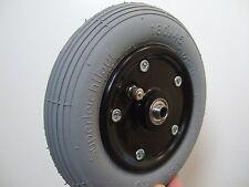 Rollstuhlreifen 7 x 1 3/4 oder 180x45 Rollstuhl Rad Reifen mit Felge Komplettrad