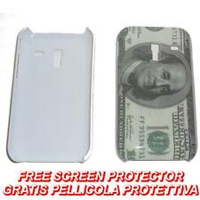 Pellicola+Custodia BACK RIGIDA DOLLARO per Samsung Galaxy Ace Plus S7500 (H8)