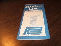 DECEMBER 1971 PENN CENTRAL FORM 113 HARLEM LINE PTT