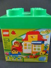 NEW LEGO DUPLO Fun With Bricks 4627 Building Kit Blocks Box 85pc Set Faces NIB