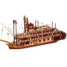 Occre Mississippi 1/80th Scale Model Boat Display Kit 14003