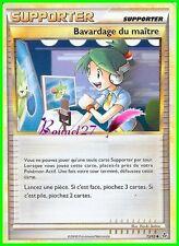 """Carte Pokemon """" SUPPORTER """" Bavardage du maitre Déchaînement 73/95 UNCO VF"""