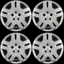 "4 New 07-14 Dodge Avenger Caliber 200 17"" Bolt On Hub Caps Full Rim Wheel Covers"