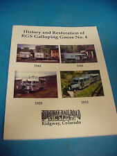 History & Restoration of RGS Galloping Goose #4 Train Ridgway Colorado