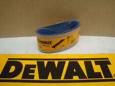 10 X DEWALT DT3667 64MM X 356MM SANDER SANDING BELTS 80GRIT D26480