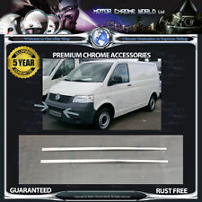 FITS TO VOLKSWAGEN T5 CHROME WINDOW TRIM COVERS 5y GUARANTEE 2003-2009 OFFER NEW