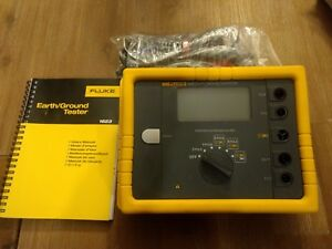 New Fluke 1623 Geo Earth ground testing instrument