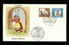 Postal History Germany Fdc #B426-B429 Set Of 2 Children fairy tales Holle 1967