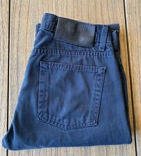 Naked And Famous Men's Dark Navy Twill Weird Guy Fit Jeans Sz 30x32