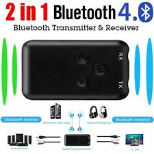 3.5mm Bluetooth Receiver Car Home Music Audio Aux Stereo Transmitter Receiver