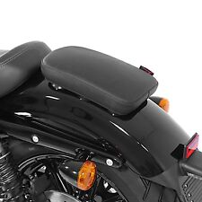 Sozius Saugnapf Sitz-Pad für Harley Dyna Super Glide Notsitz Glider X schwarz