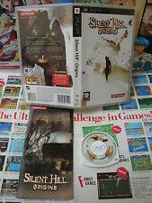 Sony PSP:Silent Hill Origins [TOP KONAMI & 1ERE EDITION] COMPLET - Fr