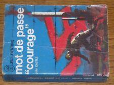 "$$$ Livre J'ai lu bleu Mot de passe ""courage""A38/39John Castle"