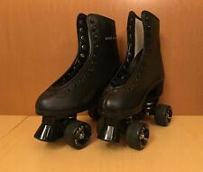 Skate Gear Black Quad Roller Skates Size 6