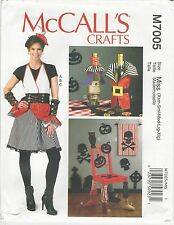 McCalls M7005 Crafts Pattern Halloween Items OSZ Uncut