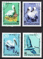 Bulgaria - 1984 WWF / Pelican - Mi. 3303-06 FU