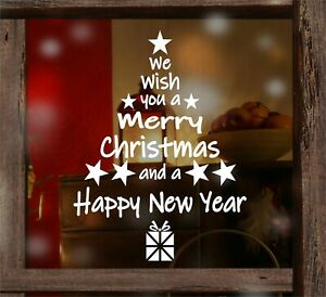 Christmas Window Stickers Home Decor Supplies Xmas Ornament New Year T