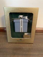 Wedgwood Gift Box Ornament Functional Blue Jasperware Lidded Porcelain Box NIB