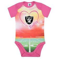 fdd04b094 NFL Oakland Raiders Bodysuit Stadium Design Pink Size 6-9 Month Gerber