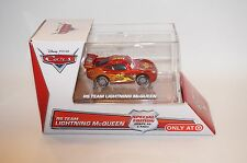 Disney Pixar Cars RS Team Lightning McQueen Car IN Special Edition Display Case
