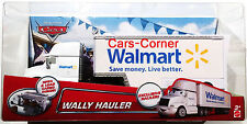 Disney Pixar Cars Wally - Walmart Exclusive Hauler - Mattel 2014 - NEU & OVP