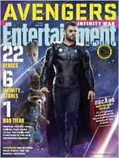 Entertainment Weekly March 16 2018 Avengers Infinity War War Rocket,Groot & Thor