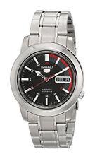 Seiko Automatic SNKK31 SNKK31K1 Men Day Date Stainless Steel Watch
