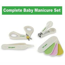 Baby Nail Clipper Set By Lebogner - Complete 4 Piece Grooming Kit for Any Chi...
