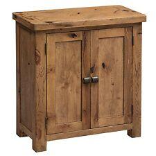 Durham oak furniture small storage cupboard
