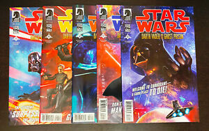 STAR WARS Darth Vader Ghost Prison (2012 Dark Horse) -- #1 2 3 4 5 -- FULL Set