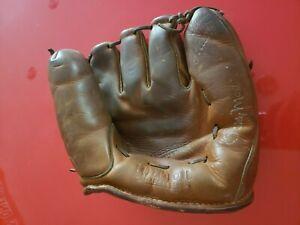 Vintage Wilson Ball Hawk Billy Martin Baseball Glove Mitt A2190 1960's 1950's