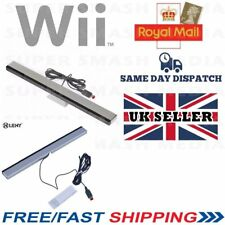 SENSOR BAR FOR NINTENDO WII & WII U WITH STAND WIRED INFRARED RECEIVER - NEER
