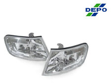 Depo Pair of Euro Crystal Clear Corner Lights Lamps For 1994-1997 Honda Accord